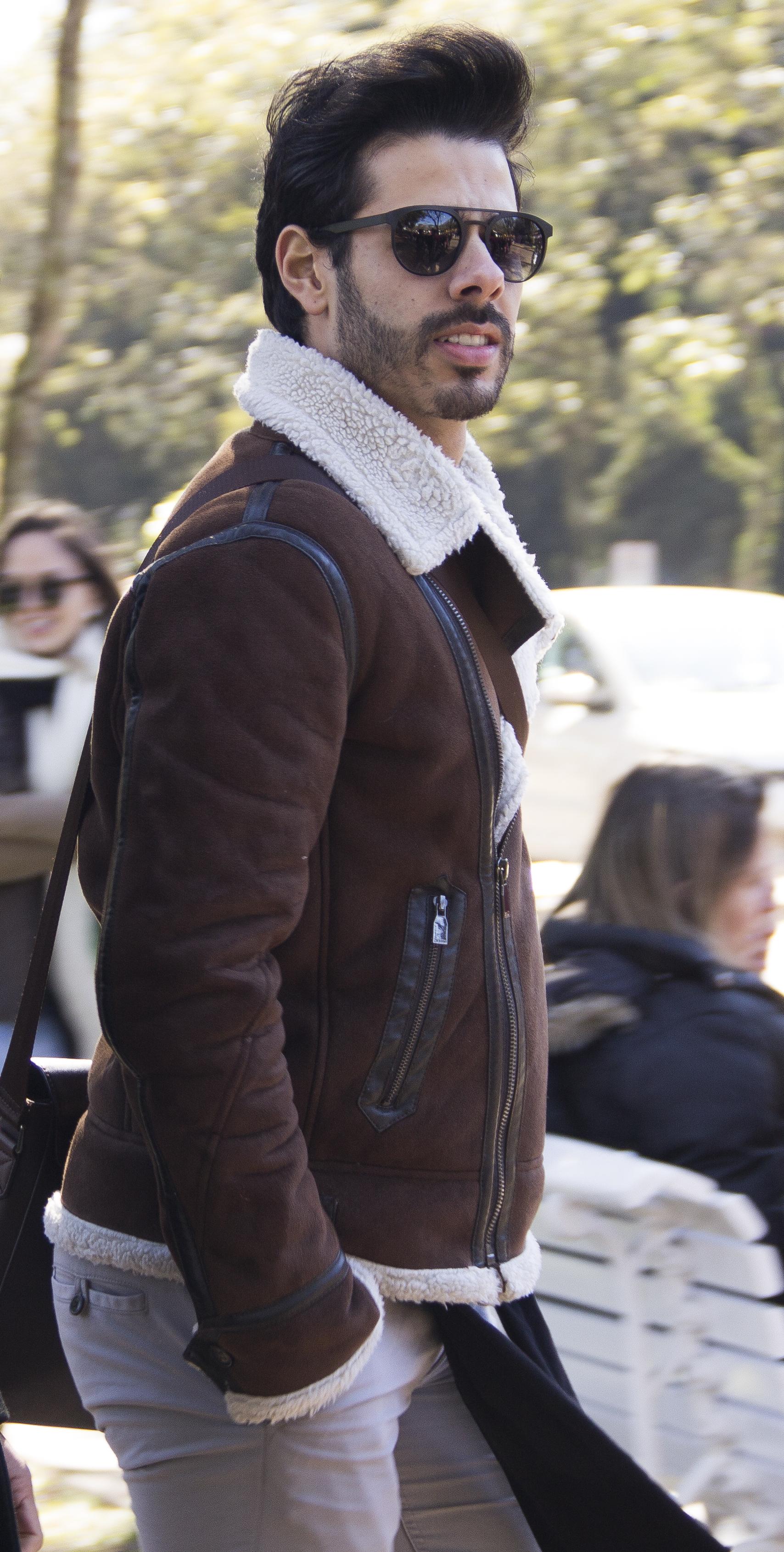 Entre mantas e toucas  o que rolou de moda no Vestibular da UPF ... 20ba9787789