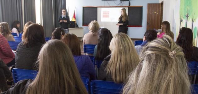 """Projeto """"Doação de Sangue"""" inicia atividades em escolas do município."""